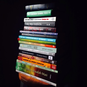 buku yang sudah dan sedang dibaca..